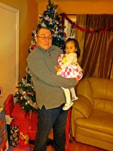 papa and lili xmas eve