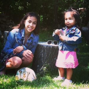Primas in their matching Jean Jackets