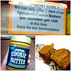 Cookie Butter Shortage!