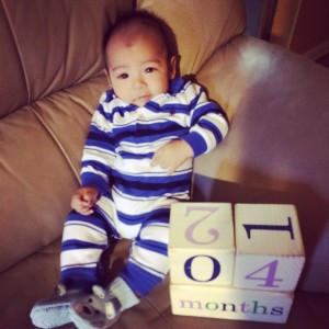 4-Months Old 01/11/14