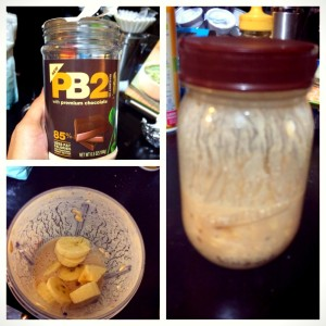 Peanut Butter Banana Oats