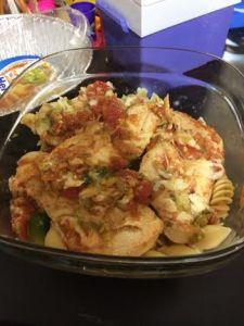 Pasta Chicken w/ Veggies