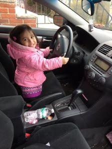 Driving Mrs. Sanchez...