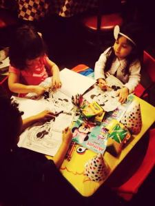 Coloring w/ Friends