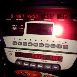 Pedro's workout