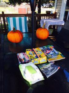 Pumpkin Painting Fun