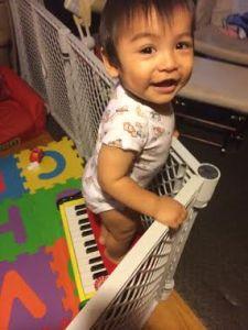 Really, Kid? Climbing the Piano?