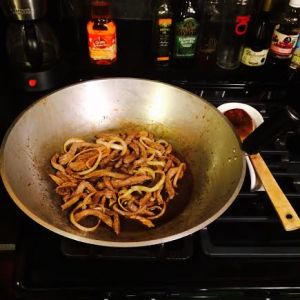 Stir Fry Steak & Onions