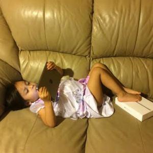 """""""Mommy, I love my new iPad"""""""